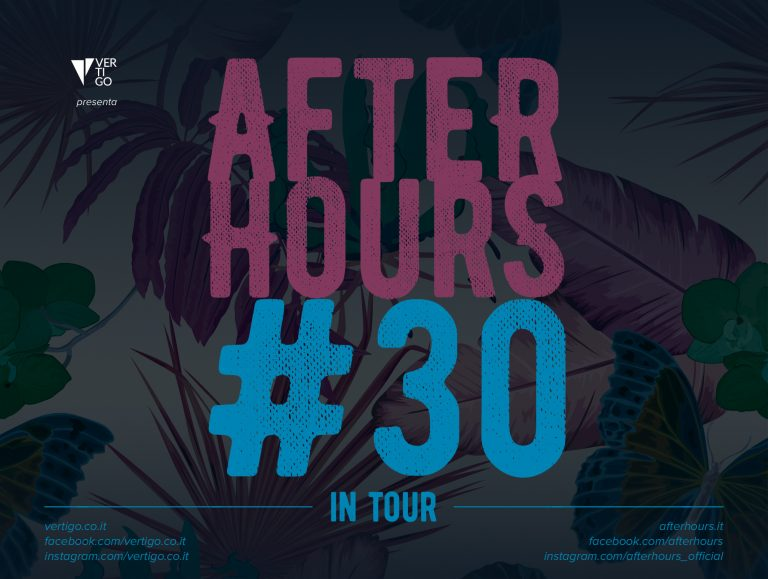 AFTERHOURS 30 SUMMER TOUR