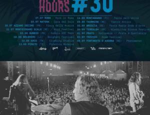 #Afterhours30 al via il tour estivo