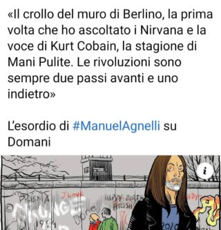Su @domanieditoriale. Link nei commenti e nelle stories #ManuelAgnelli